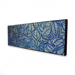 Framed 16 x 48 - 3D - Leaves patterns