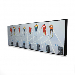 Framed 20 x 60 - 3D - Race of 10 meters
