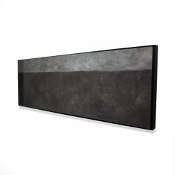 Framed 16 x 48 - 3D - Shades of gray
