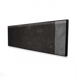 Framed 16 x 48 - 3D - Four shades of gray