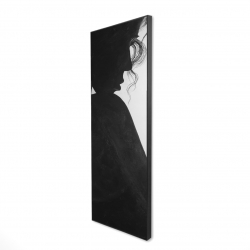 Framed 16 x 48 - 3D - Chic woman with jewels