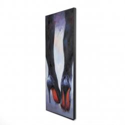 Framed 16 x 48 - 3D - Long legs with high heels