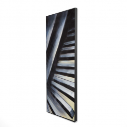 Framed 16 x 48 - 3D - Piano keys