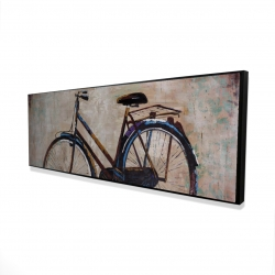Framed 16 x 48 - 3D - Industrial bicycle