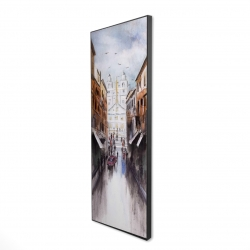 Framed 16 x 48 - 3D - Historic place