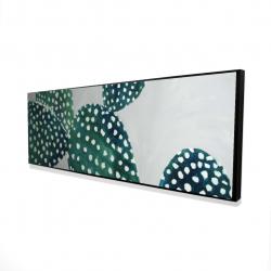 Framed 16 x 48 - 3D - Opuntia cactus 1