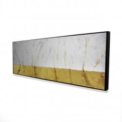 Framed 16 x 48 - 3D - Golden shine