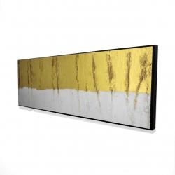Framed 16 x 48 - 3D - Golden stripe