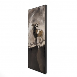 Framed 16 x 48 - 3D - Abstract proud aeries