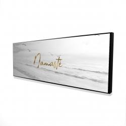 Framed 16 x 48 - 3D - Namaste