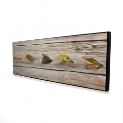 Framed 16 x 48 - 3D - Fishing flies