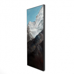 Framed 16 x 48 - 3D - Emblematic himalayan peaks