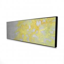 Framed 16 x 48 - 3D - Gold erosion