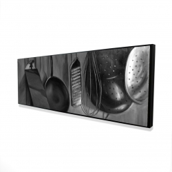 Framed 16 x 48 - 3D - Kitchen tools for chef