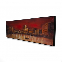 Framed 16 x 48 - 3D - Venise by red dawn