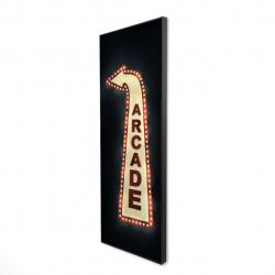 Framed 16 x 48 - 3D - Arcade