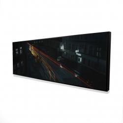 Framed 16 x 48 - 3D - Downtown