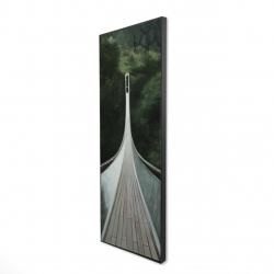 Framed 16 x 48 - 3D - Steep bridge