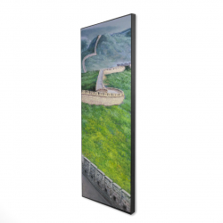 Framed 16 x 48 - 3D - Great wall of china