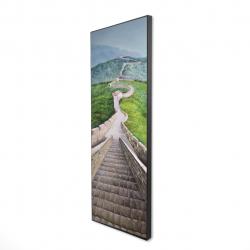 Framed 16 x 48 - 3D - Great wall of mutianyu