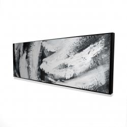 Framed 16 x 48 - 3D - Big stripes