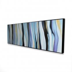 Framed 16 x 48 - 3D - Blue mood