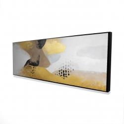 Framed 16 x 48 - 3D - Improvisation