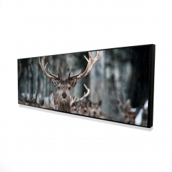 Framed 16 x 48 - 3D - Stags