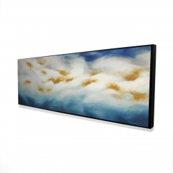 Framed 16 x 48 - 3D - Abstract landscape