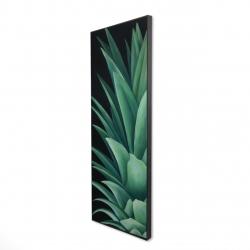 Framed 20 x 60 - 3D - Pineapple leaves