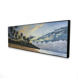 Framed 20 x 60 - 3D - Tropical summer moments