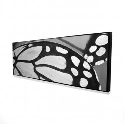 Framed 16 x 48 - 3D - Butterfly wings closeup