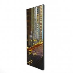 Framed 16 x 48 - 3D - New york city 9th street