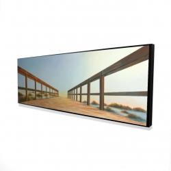 Framed 16 x 48 - 3D - Footbridge
