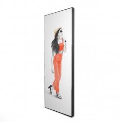 Framed 16 x 48 - 3D - Strike the pose