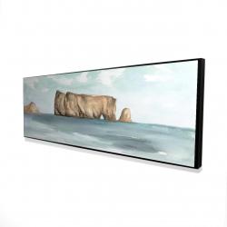Framed 16 x 48 - 3D - Rocher percé