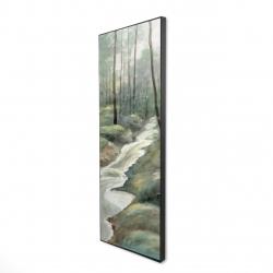 Framed 16 x 48 - 3D - Waterfall
