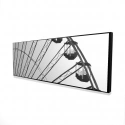 Framed 16 x 48 - 3D - Quarter of a ferris wheel