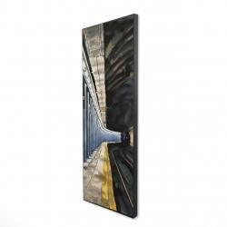 Framed 16 x 48 - 3D - New-york subway