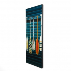 Framed 20 x 60 - 3D - Paddles