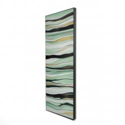 Framed 16 x 48 - 3D - Mint mood
