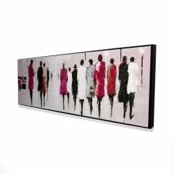 Framed 16 x 48 - 3D - Walk