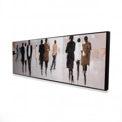 Framed 16 x 48 - 3D - Avenue