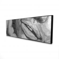 Framed 16 x 48 - 3D - Irresistible lips