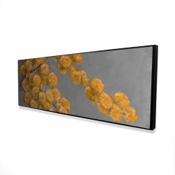 Framed 16 x 48 - 3D - Golden wattle plant