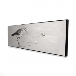 Framed 16 x 48 - 3D - Semipalmated sandpiper