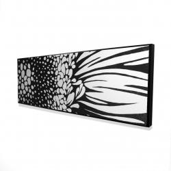 Framed 16 x 48 - 3D - Gerbera flower