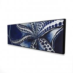 Framed 16 x 48 - 3D - Dancing octopus