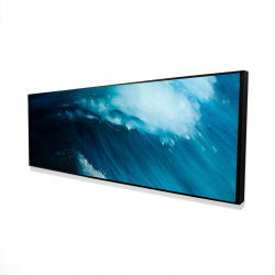 Framed 16 x 48 - 3D - Unleashed sea