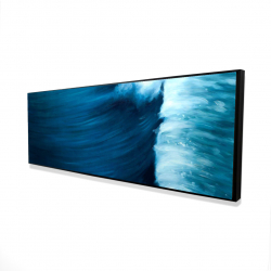 Framed 16 x 48 - 3D - Wave